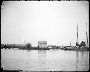 Salem, Phillips Wharf, views