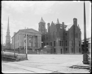 Salem, Federal Street Courthouse, rear view