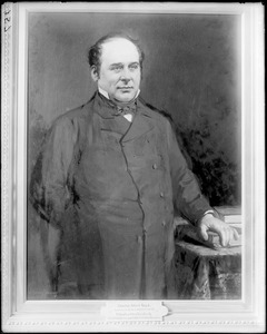 Portrait, Charles Albert Read, from painting at City Hall by J. Harvey Young