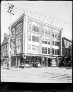 Salem, Town House Square and Neal and Newhall Building, views