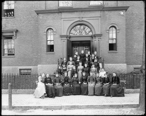 Group, at Salem Normal School
