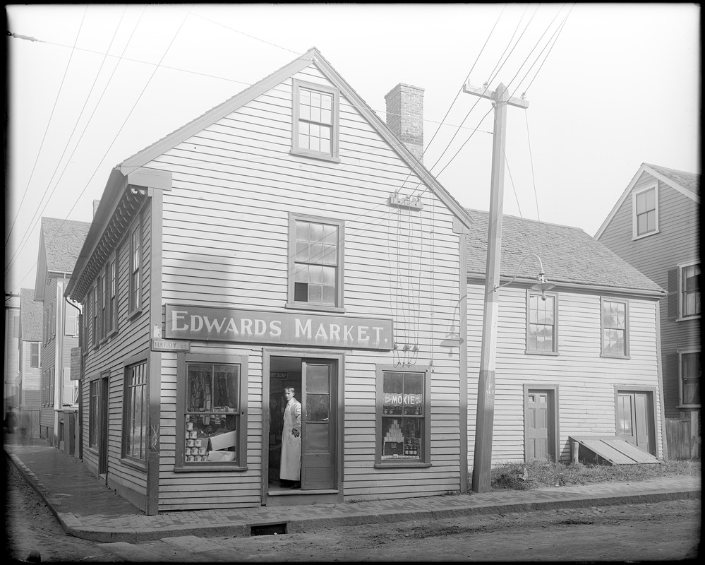 Salem, 43 Essex Street at Hardy Steet, Edwards Market