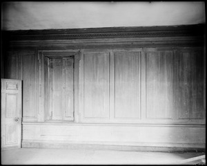 Horsham, Pennsylvania, 859 County Line Road, interior detail, panelling, first floor, Keith House
