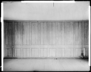 Horsham, Pennsylvania, 859 County Line Road, interior detail, panelling, second floor, Keith House