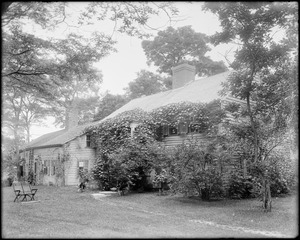 Kingston, Rhode Island, General Cyrus French house, before 1700