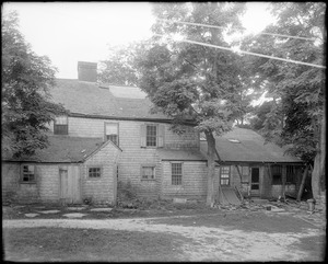 Kingston, Rhode Island, General Cyrus French house, rear