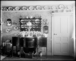 Kingston, Rhode Island, dining room, Wilkins Updike, Updike-Hunt house