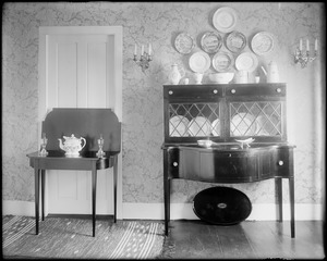 Kingston, Rhode Island, dining room, Eddy house