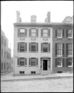 Baltimore, Maryland, 7 East Franklin Street, exterior detail, front elevation, unknown house