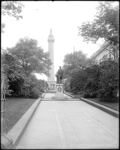 Baltimore, Maryland, monuments, Washington Monument