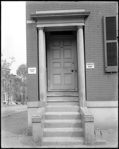 Baltimore, Maryland, 423 Saint Paul's Street, exterior detail, unknown house