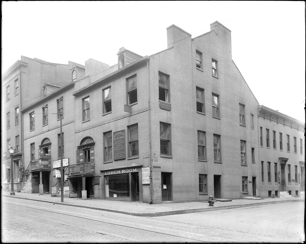 Baltimore, Maryland, 102 and 104 East Lexington Street, unknown house