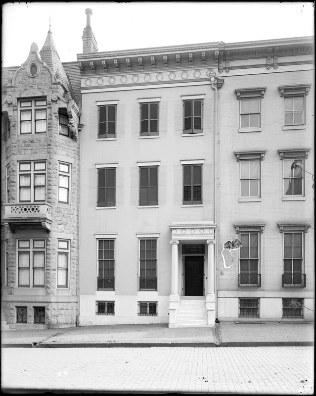 Baltimore, Maryland, 113 West Monument Street, unknown house
