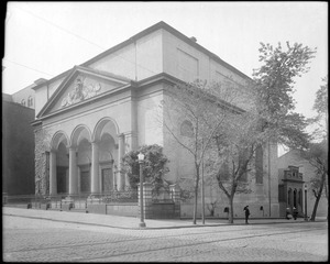 Baltimore, Maryland, West Franklin Street, Christ Church, 1818, Godfray, architect