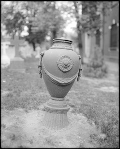 Objects, stove for wood, in Saint Peter's Church yard, Philadelphia, Pennsylvania