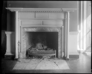 Baltimore, Maryland, Charles Carroll estate, mantel, drawing room