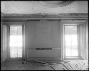 Beverly, 115 Cabot Street, George Cabot house, interior detail, windows