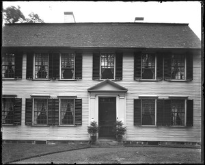 North Andover, Phillips house, front facade