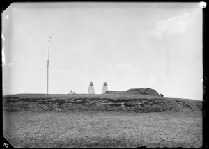 """Fort Andrew or """"Gurnet Fort,"""" Plymouth, MA"""