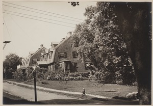 Photograph Album of the Newell Family of Newton, Massachusetts - Annie A. Garrison House and Dr. Frank M. Sherman House -