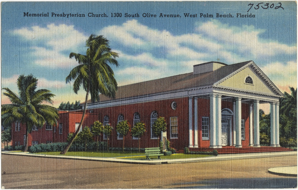 Memorial Presbyterian Church 1300 S Olive Avenue West Palm Beach Florida