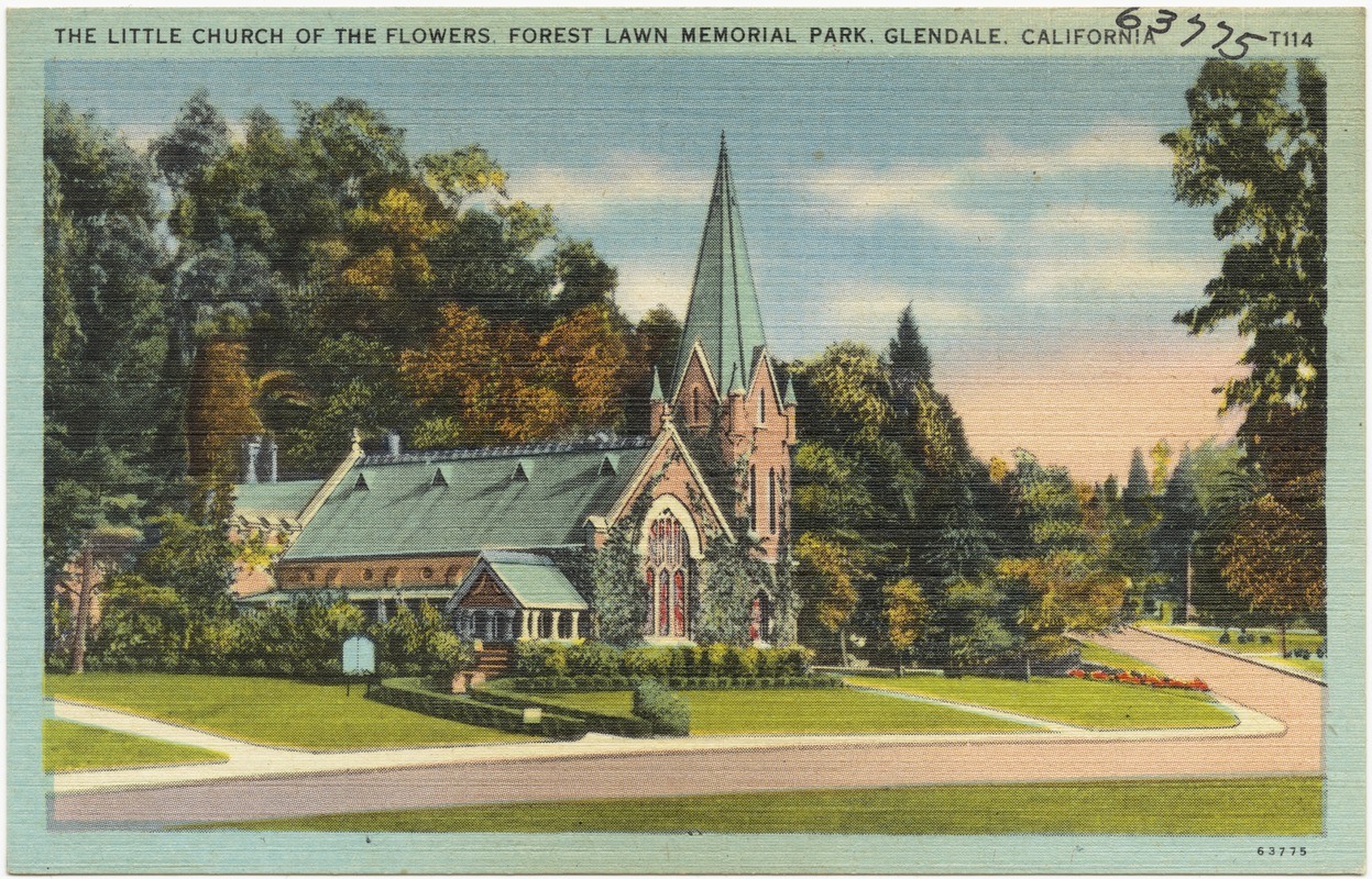 The Little Church of the Flowers Forest Lawn Memorial Park