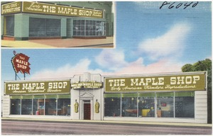 The Maple Shop, early American furniture reproductions