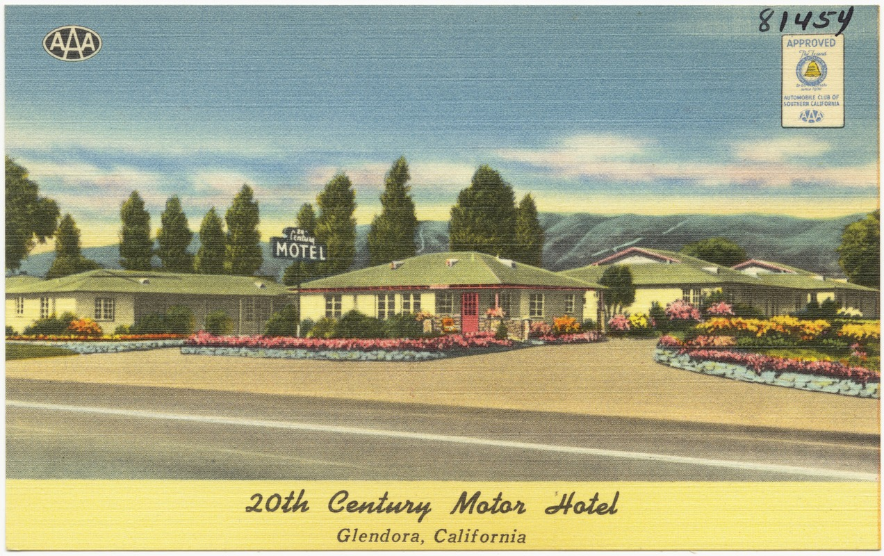 20th Century Motor Hotel, Glendora, California