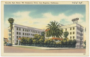 Ancelle Apt. Hotel, 701 Gramercy Drive, Los Angeles, California