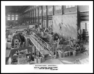 Bldg. 421 centrifugal casting foundry east end looking west