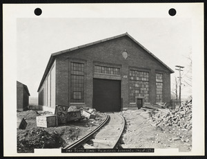 Bar stock shed