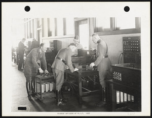 Student officers at MIT