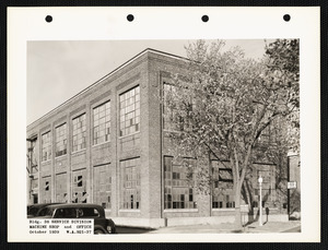 Bldg. 38 service division machine shop and office