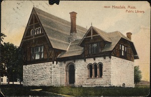 Hinsdale, Mass. Public library