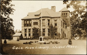 Gale Free Library. Holden, Mass.