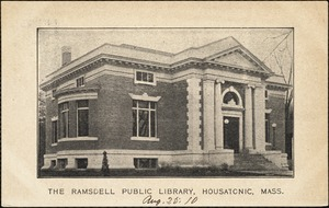 The Ramsdell Public Library, Housatonic, Mass.