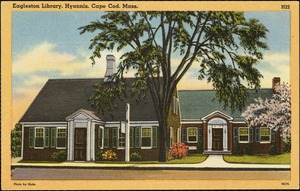 Eagleston Library, Hyannis, Cape Cod, Mass.
