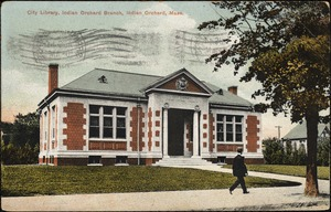 City library, Indian Orchard branch, Indian Orchard, Mass.