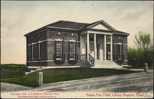 Adams Free Library, Kingston, Mass.