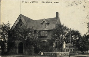 Public library, Mansfield, Mass.