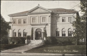 The public library, Melrose, Mass.