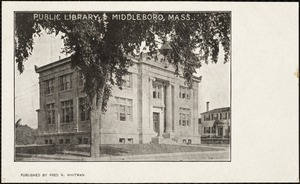 Public library, Middleboro, Mass.