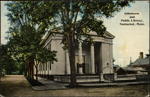 Atheneum and public library, Nantucket, Mass.