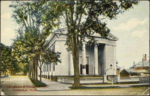 Atheneaum and public library, Nantucket, Mass.