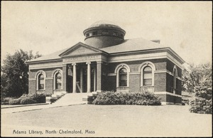 Adams Library, North Chelmsford, Mass.