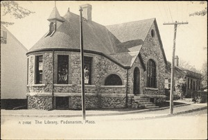 The library, Padanaram, Mass.