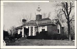 Richards Memorial Library, Paxton, Mass.
