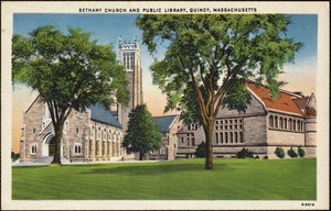 Bethany Church and public library, Quincy, Massachusetts