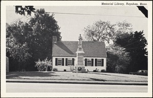 Memorial Library, Raynham, Mass.