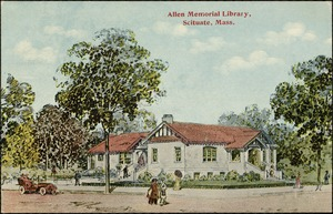 Allen Memorial Library, Scituate, Mass.